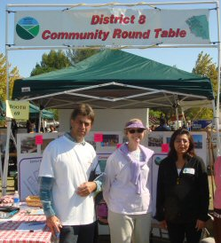 Our Booth at Day in the Park Oct 2008